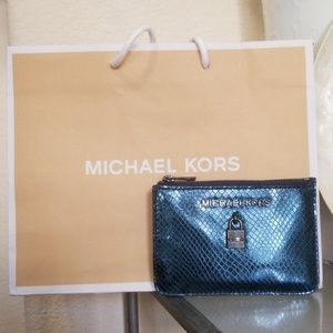 Michael Kors Adele Midnight Coin Pouch